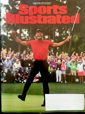 """Sports Illustrated Magazine April 22-29, 2019  """"Tiger Woods"""" Mint Condition"""