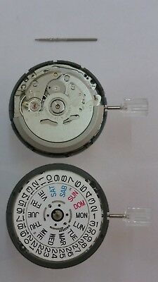 SII  NH36A automatic movement with day/date @ 3 (seiko 4R36A)