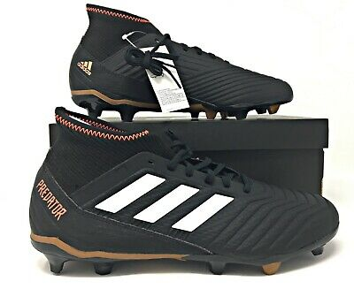 separation shoes 6c27a cba80 ADIDAS ACE PREDATOR 18.3 FG Firm Ground Mens Black Soccer ...