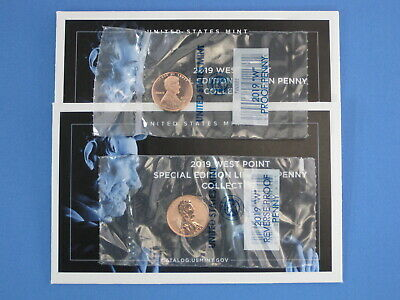 2019-W Reverse Proof & Normal Proof Lincoln Cent 2 coin Special Edition Set