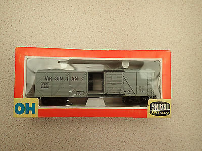 Life Like Trains 41 HO Gauge Wood Braced Box Car Virginian MIB