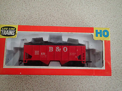 Life Like Trains 481 HO Gauge Coal Hopper Wagon B & O Poss Unused