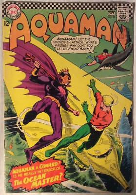 Aquaman #29 first appearance Ocean master (DC 1966) Silver age classic. FN-