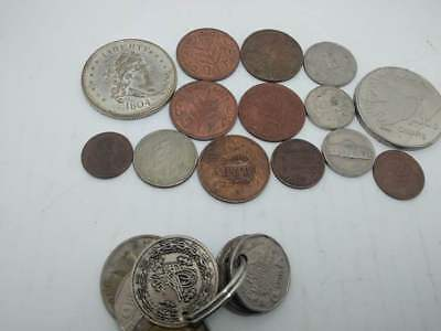 Job Lot Of Old Coins - Vintage Rare Loft Find  Ancient Coins Collection $ RARE