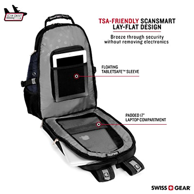 SwissGear Travel Gear 1900 Scansmart TSA Friendly Laptop Backpack 19