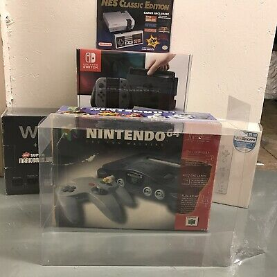1 Console Box Protector N64 Original Size Doesn't fit Purple Nintendo 64 0.50mm
