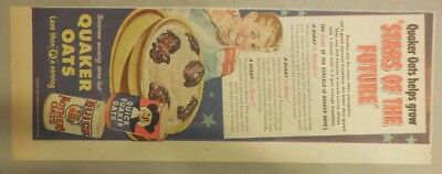 Nabisco Cereal Ad: Cold or Cooked! Shredded Wheat 1930's 7.5 x 15 inches