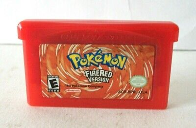 Pokemon FireRed Version (Nintendo Game Boy Advance GBA) Authentic Cart Fire Red