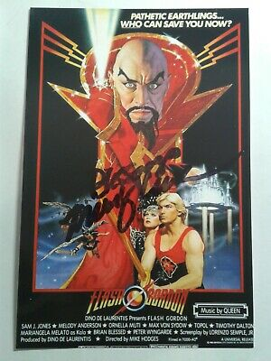 Melody Anderson Authentic Hand Signed Autograph 4X6 Photo  - FLASH GORDON