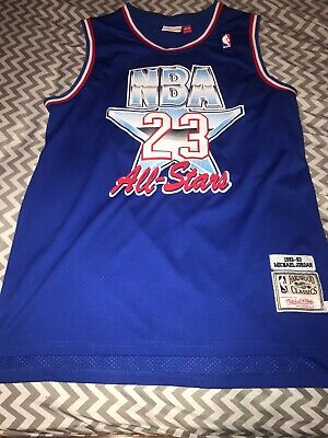 534a2902469 Michael Jordan Authentic Mitchell   Ness 1993 NBA All Star Game Jersey Size  ...