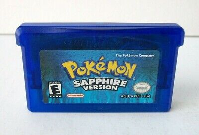 Pokemon Sapphire Version (Nintendo Game Boy Advance GBA) Authentic Dead Gameboy