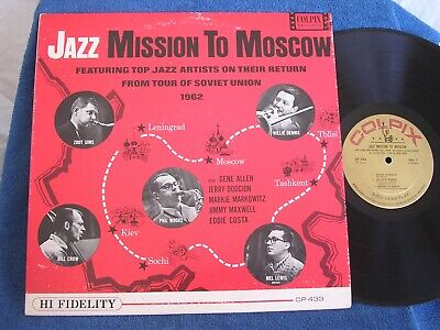 Zoot Sims-Eddie Costa/Jazz Mission to Moscow/1962 Mono/Colpix CP 433/EX+ to M-