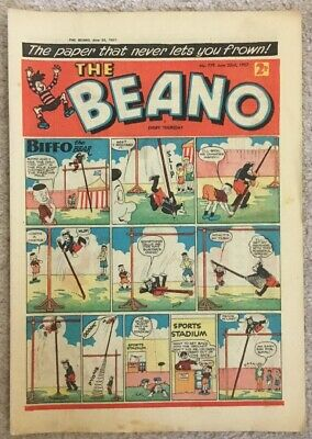 The Beano comic No.779 June 22 1957