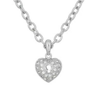 638d270267e38 ANNALEECE BY DEVRIES Swarovski Crystals in a 22K Plated Heart ...