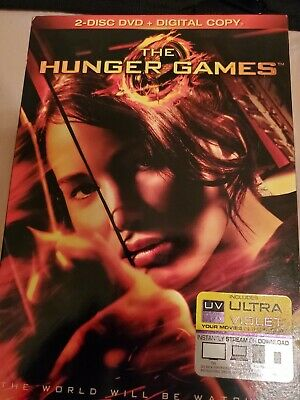 The Hunger Games Complete 4 Movie blu-ray and DVD Collection 5 Discs