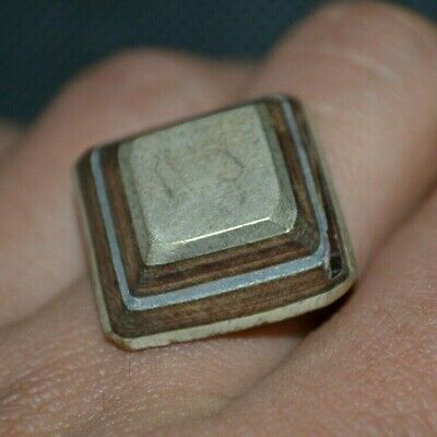 LOW OUTBID !! Stunning Rare Ancient VIKING BRONZE RING museum quality ARTIFACT
