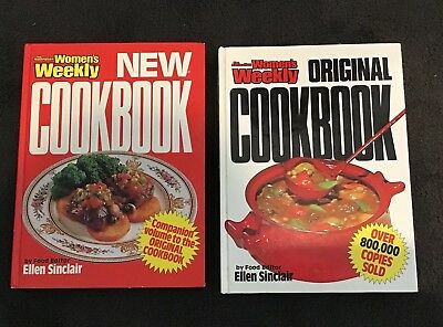 Fantastic Women's Weekly Cookbooks - The Original And The New Cookbook