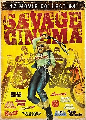 Savage Cinema Collection. 12xGrindhouse Classics. Brand New In Shrink!