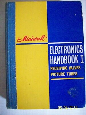 Vintage Miniwatt Electronics handbook 1 Receiving valves and picture tubes