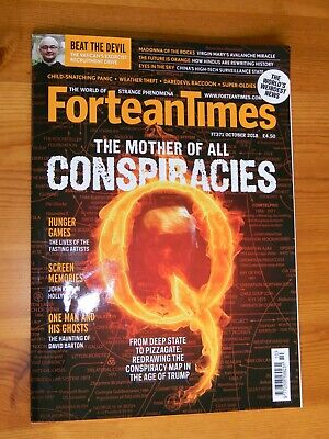 FORTEAN TIMES #371 October 2018 Q The Mother Of All Conspiracies