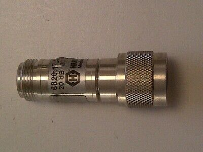 Huber Suhner, 6820.17A, 20dB, N type Attenuator.