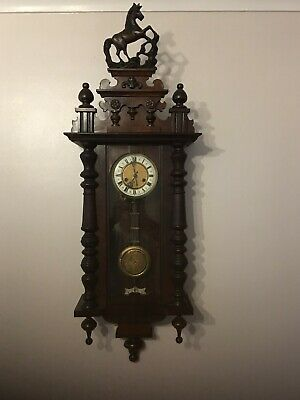 Antique Gustav Becker Vienna Wall Clock