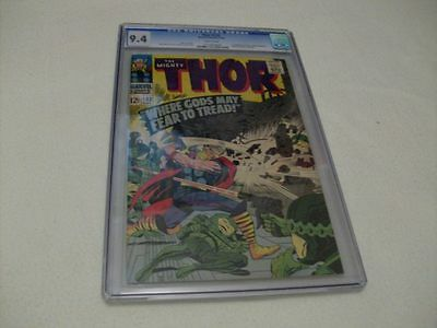 Thor 132 Cgc 9.4 (1st Ego The Living Planet )
