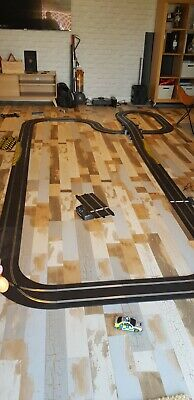 HUGE Scalextric Set - Track - Cars And Accessories