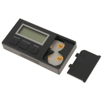 Digital Mini Cube Gauges Magnetic Base Angle Protractor Level Inclinometers