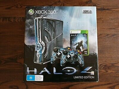 Halo 4  Xbox 360 Limited Edition Pal Console Brand New And Sealed