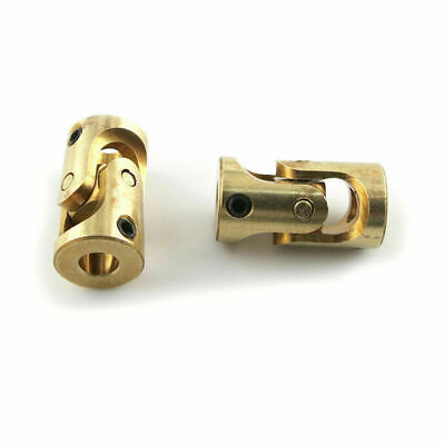 Universal Joint Coupling 3mm to 3mm Brass Connector RC Model Car Boat