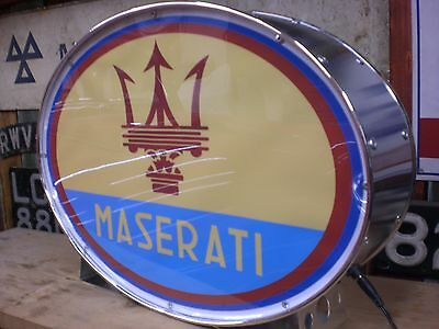 maserati,ghibli,merak,racing,vintage,mancave,lightup sign,garage,workshop,spyder