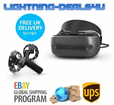 Lenovo Explorer VR Headset Windows Mixed Reality For PC With 2 Controllers