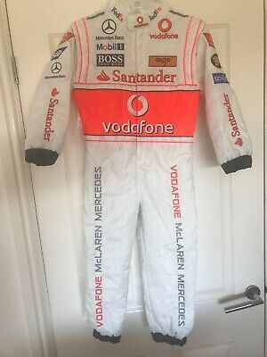 Boys Replica Mercedes F1 Racing Suit Age 2-3 Years