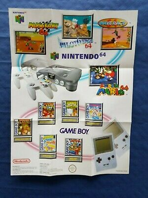 Nintendo catalogue N64 / Game Boy