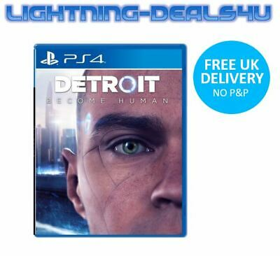 New Sealed Detroit Become Human (PS4) Playstation 4 Fast Delivery