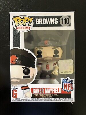 98c772703  NEW  Funko NFL Football  110 Cleveland Browns Baker Mayfield Vinyl Figure