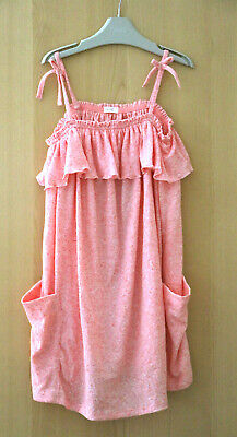 NEXT Girls Pink Jersey Strappy Dress Age 10 Years BNWT