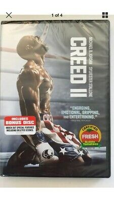Creed 2, DVD 2019 Brand New Sealed!!! 2-Disc Special Edition!