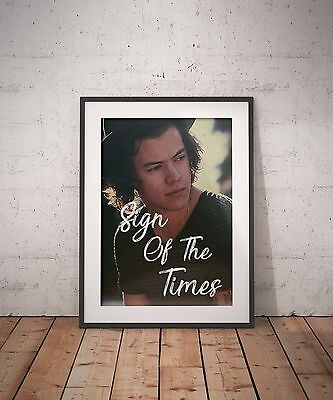 Harry Styles Sign Of The Times 1D One Direction Digital A3 Poster Print