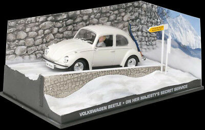 Volkswagen Beetle Kafer James Bond 007 OHMSS - 1:43 Diecast Modellauto DY074