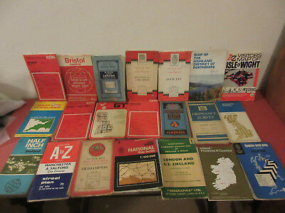 Large collection of old maps, Ordnance survey, all readable and usable Free P+P