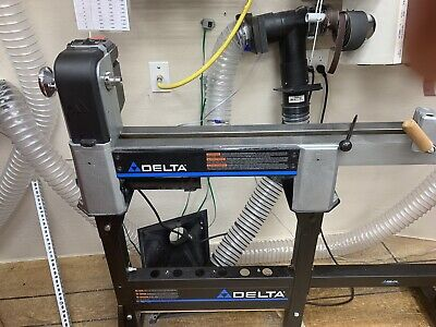 Delta Wood Lathe 12-1/2 in. Midi-Lathe 1 HP 1725 RPM Electronic Variable Speed