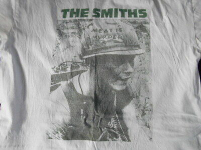THE SMITHS  MEAT IS MURDER   T- SHIRT SIZE  XL 44 INCH ,rock.