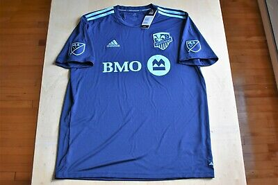 newest collection c9400 e4645 NWT ADIDAS MONTREAL Impact MLS Soccer Jersey Men's Medium ...