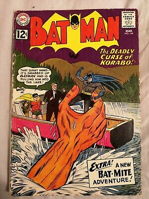 BATMAN 146 VERSUS BAT-MITE silver age comic