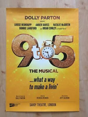 9 to 5 The Musical Theatre Poster