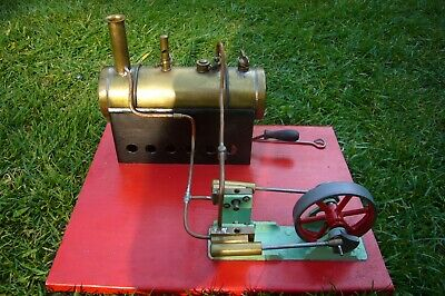 mamod twin piston live steam stationery engine