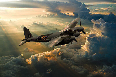 De-Havilland Mosquito EG-Y KA114 canvas print various sizes free delivery