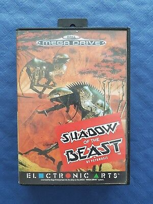 Sega Mega Drive Shadow Of The Beast